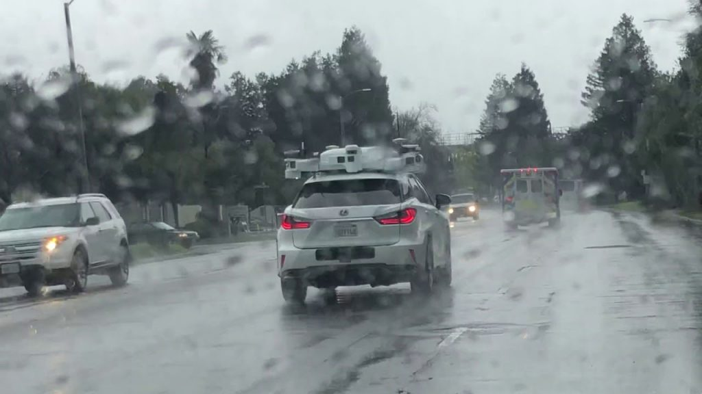 véhicules autonomes et la météo